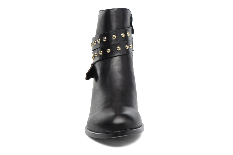 Sandales et nu-pieds Buffalo Cléa Noir vue portées chaussures
