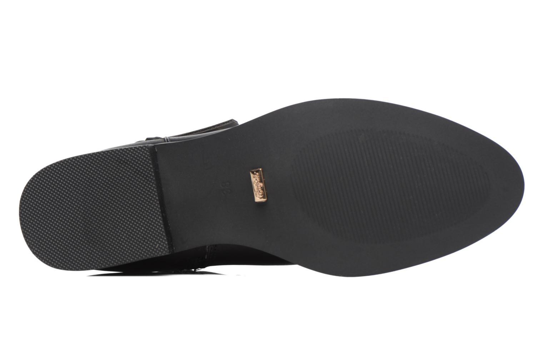 Sandales et nu-pieds Buffalo Cléa Noir vue haut