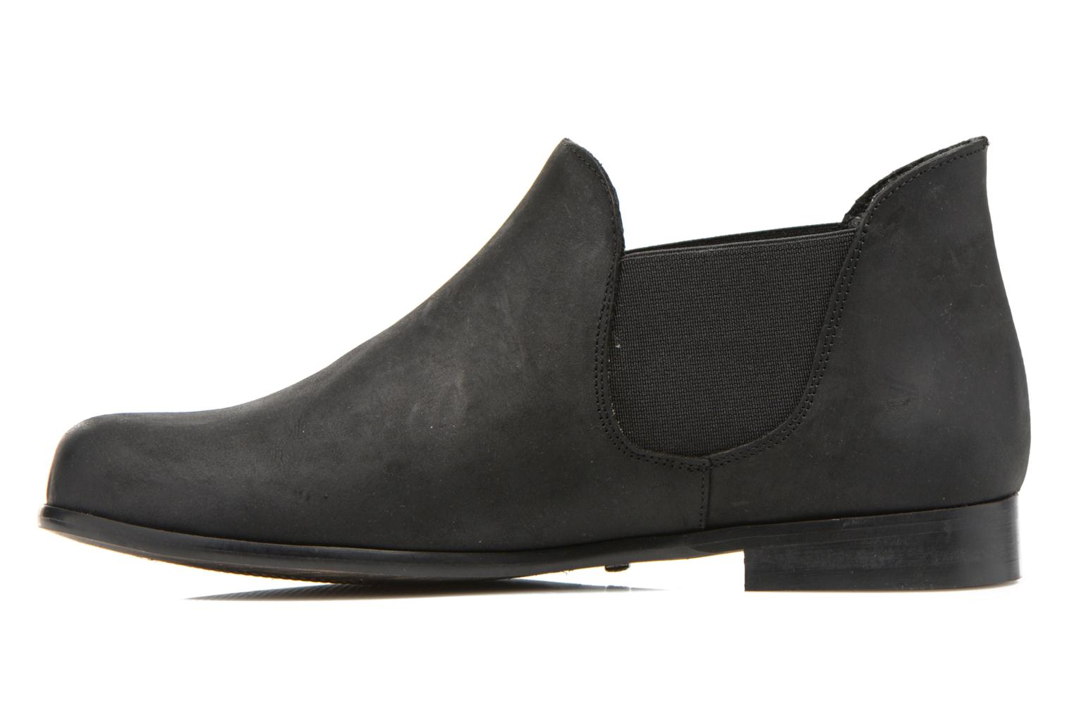 Ankle boots Buffalo Léna Black front view