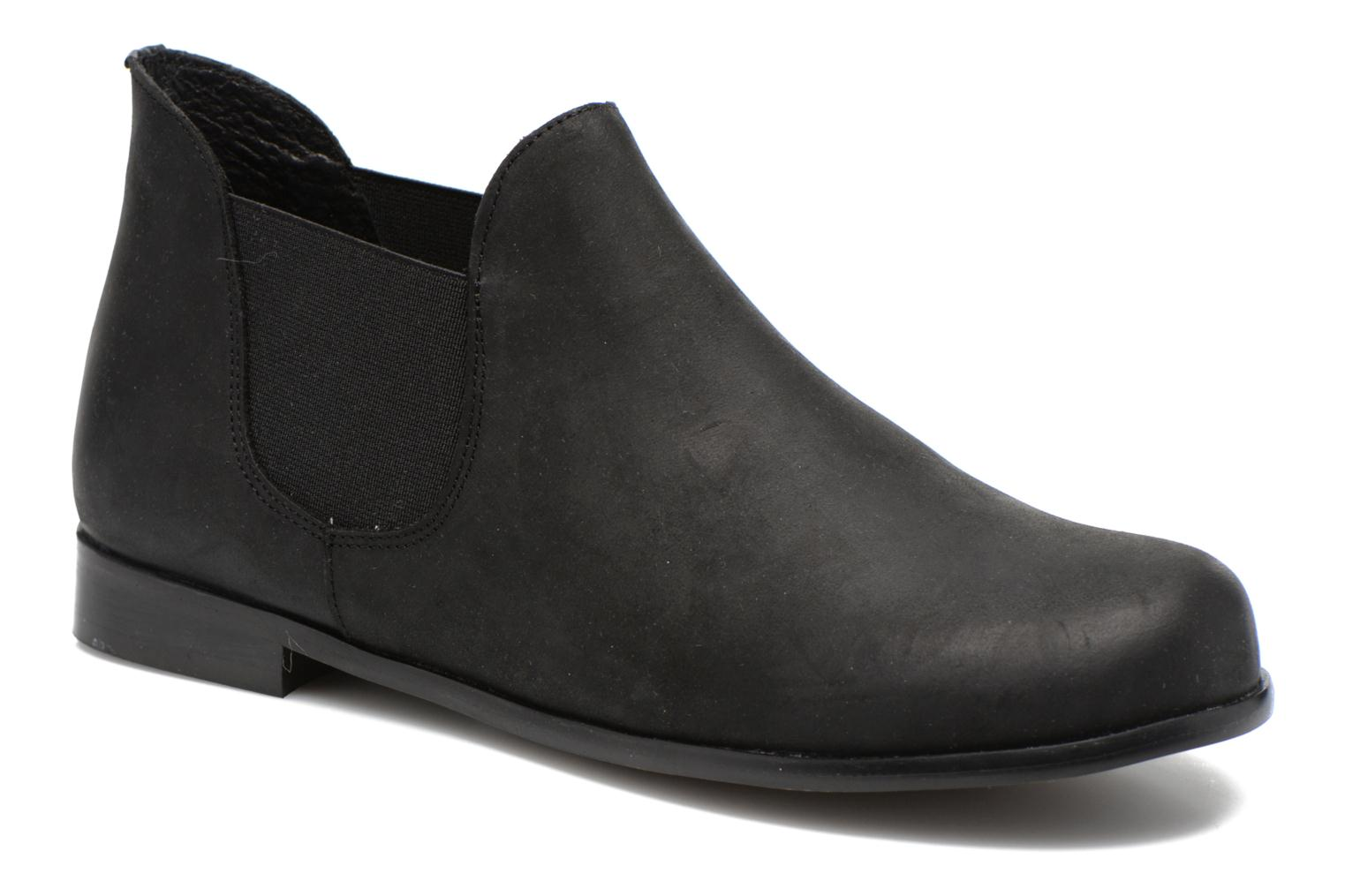 Ankle boots Buffalo Léna Black detailed view/ Pair view