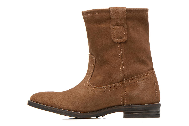 Bottines et boots Buffalo Lisa Marron vue face
