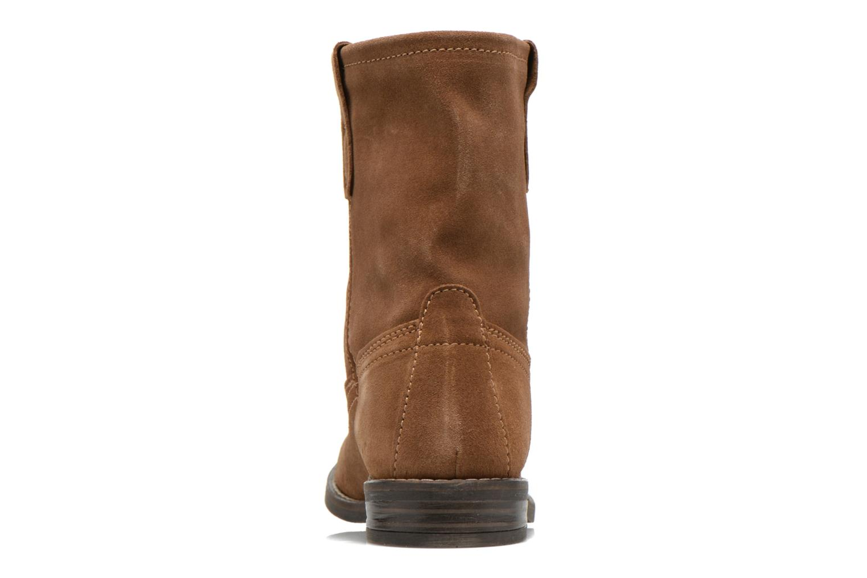 Bottines et boots Buffalo Lisa Marron vue droite