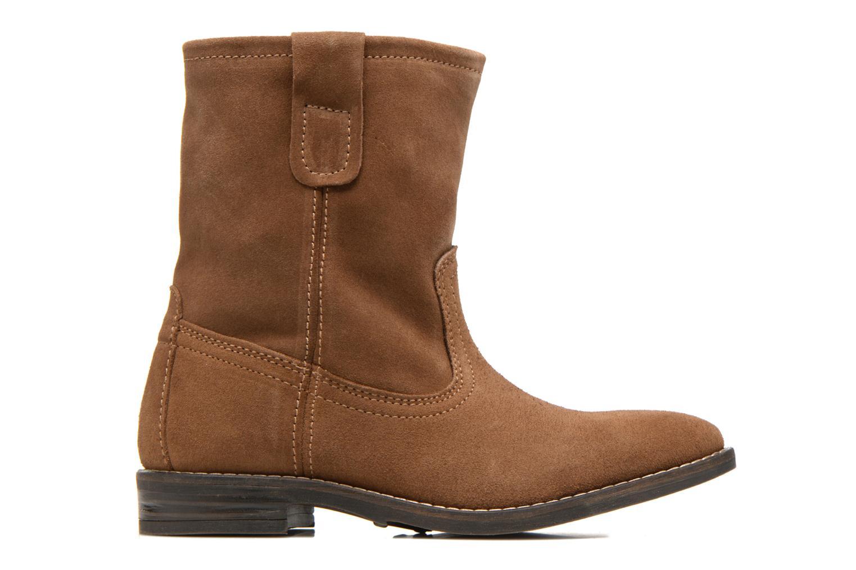 Bottines et boots Buffalo Lisa Marron vue derrière