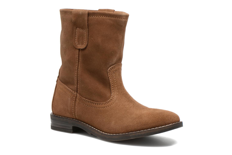Bottines et boots Buffalo Lisa Marron vue détail/paire