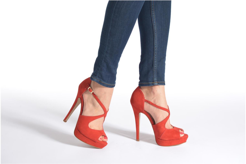 Sandali e scarpe aperte Buffalo Alicia Nero immagine dal basso
