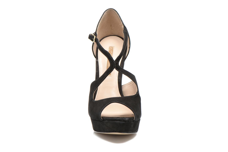 Sandali e scarpe aperte Buffalo Alicia Nero modello indossato