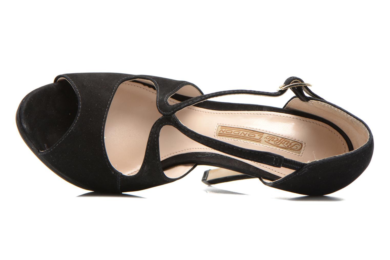 Sandali e scarpe aperte Buffalo Alicia Nero immagine sinistra