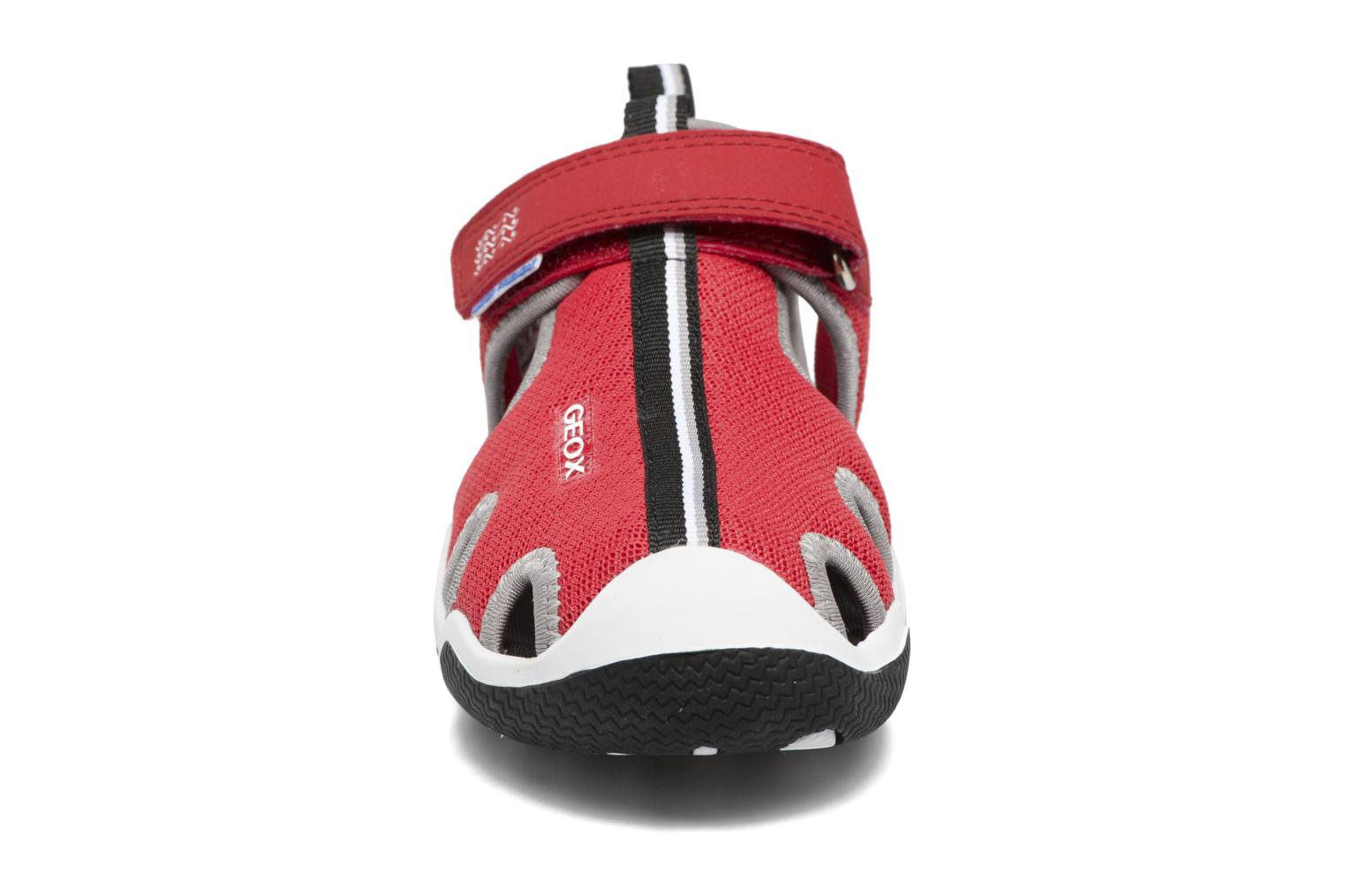 J Wader C J5230C Red/grey