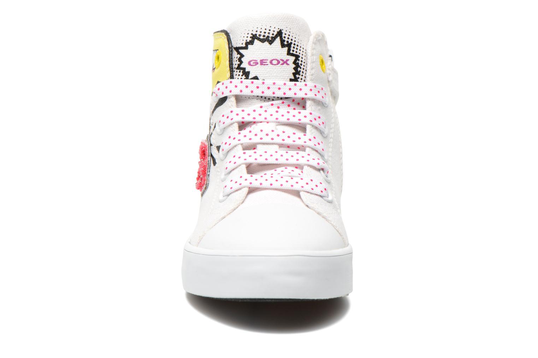 Sneaker Geox J Ciak G. A J6204A weiß schuhe getragen