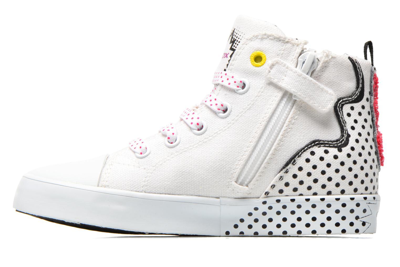 Sneaker Geox J Ciak G. A J6204A weiß ansicht von vorne