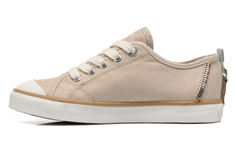 Sneaker Geox J Ciak G. E J6204E beige ansicht von vorne