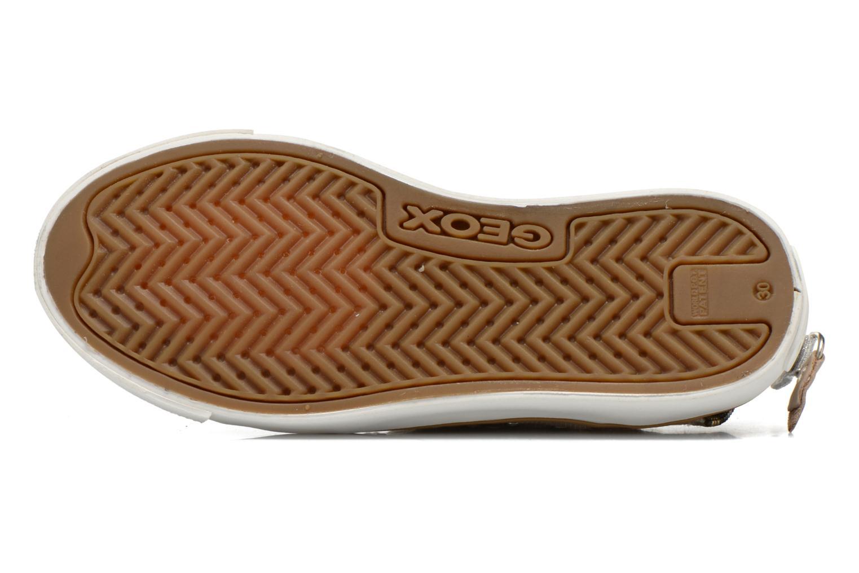 Sneaker Geox J Ciak G. E J6204E beige ansicht von oben