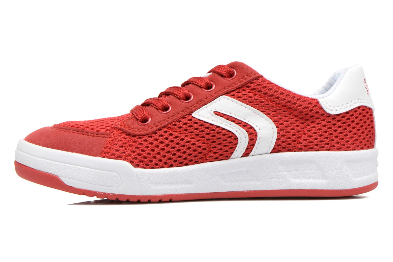 Sneakers Geox J Rolk B. E J620SE Rosso immagine frontale