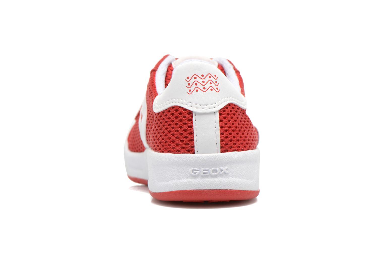 Sneakers Geox J Rolk B. E J620SE Rosso immagine destra