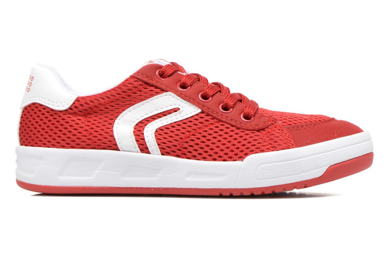 Sneakers Geox J Rolk B. E J620SE Rosso immagine posteriore