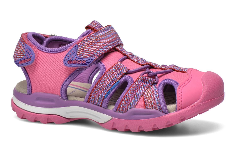 Sandales et nu-pieds Geox J Borealis G. B J620WB Rose vue détail/paire