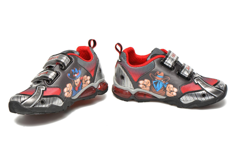 Sneaker Geox J Lt Eclipse J621BA grau 3 von 4 ansichten