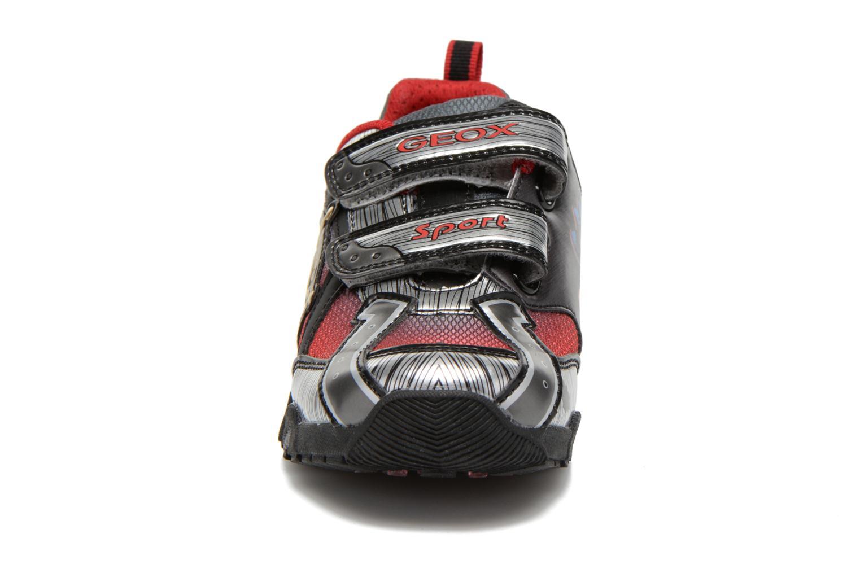 Sneaker Geox J Lt Eclipse J621BA grau schuhe getragen