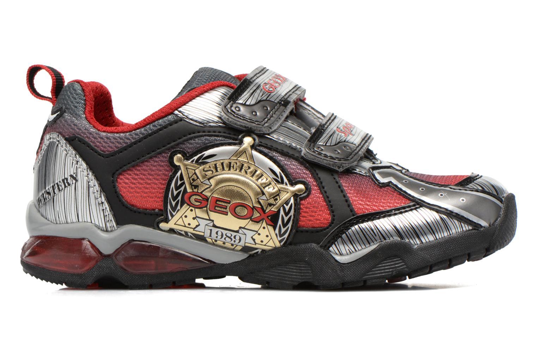 Sneaker Geox J Lt Eclipse J621BA grau ansicht von hinten