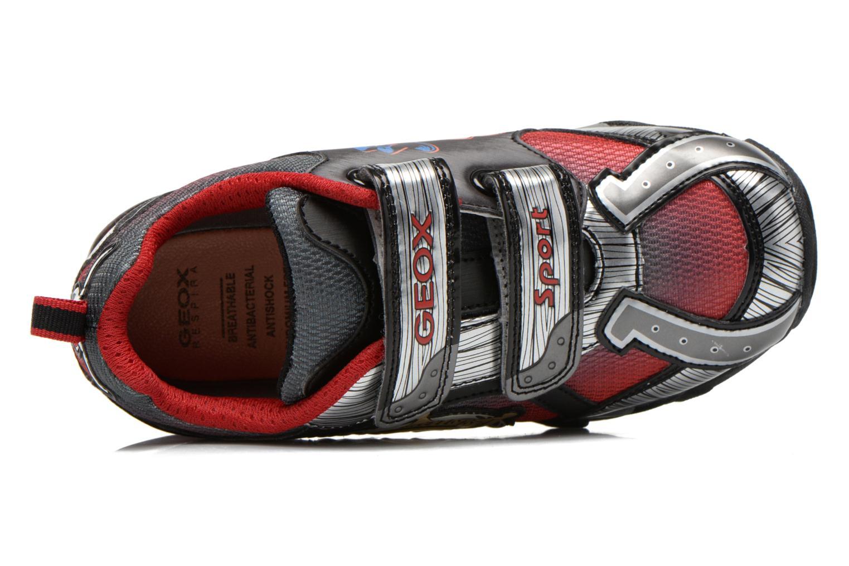 Sneaker Geox J Lt Eclipse J621BA grau ansicht von links