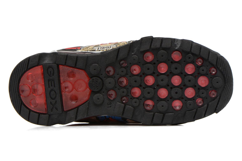 Sneaker Geox J Lt Eclipse J621BA grau ansicht von oben