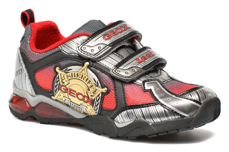 Sneaker Geox J Lt Eclipse J621BA grau detaillierte ansicht/modell