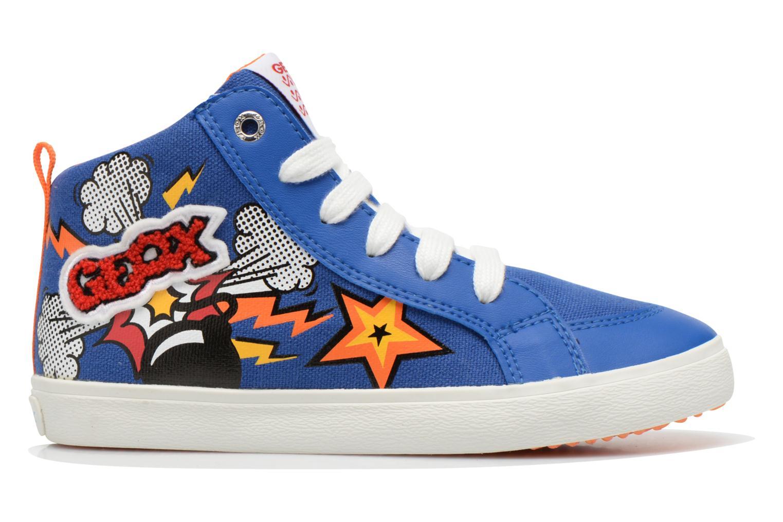 Sneakers Geox J Kiwi B. C J62A7C Azzurro immagine posteriore
