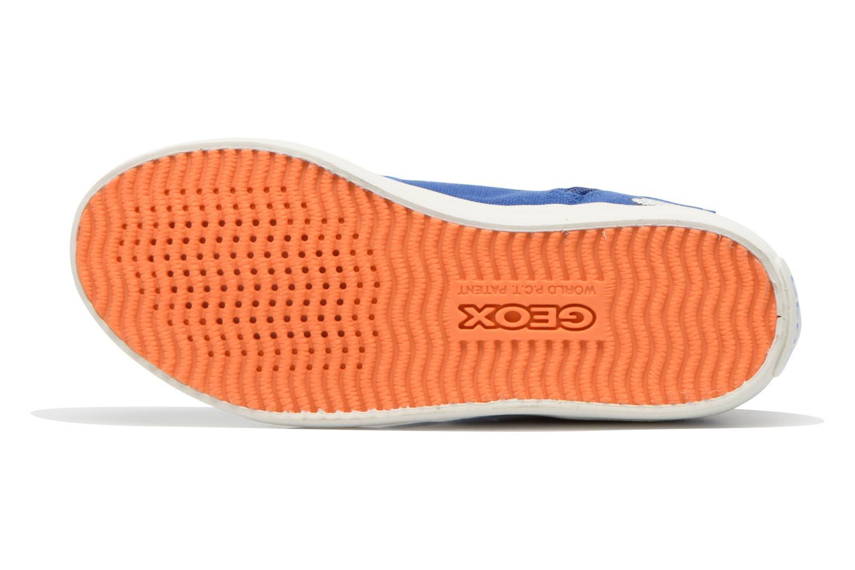 Sneakers Geox J Kiwi B. C J62A7C Azzurro immagine dall'alto