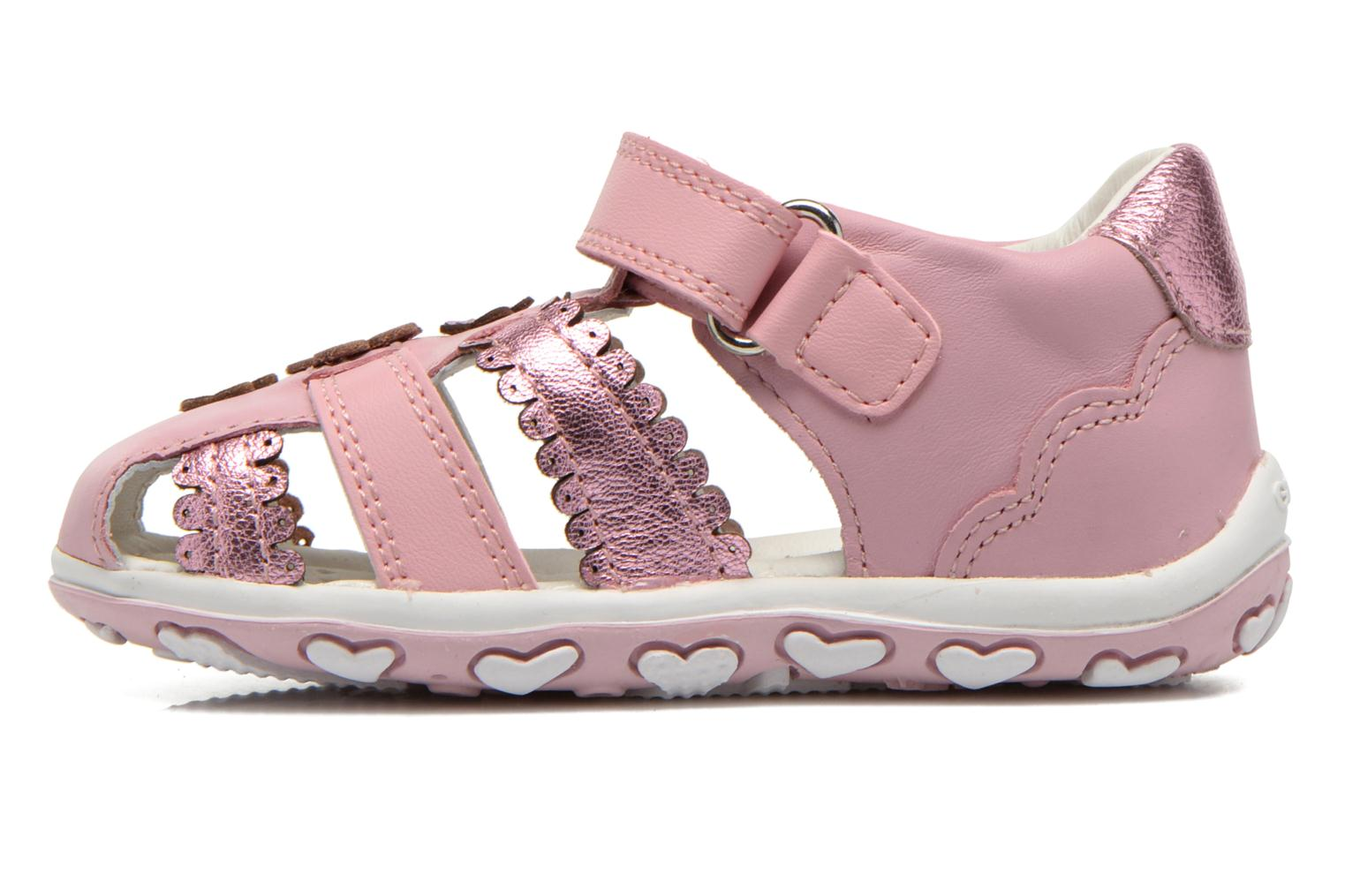 Sandals Geox B Bubble C B62E6C Pink front view