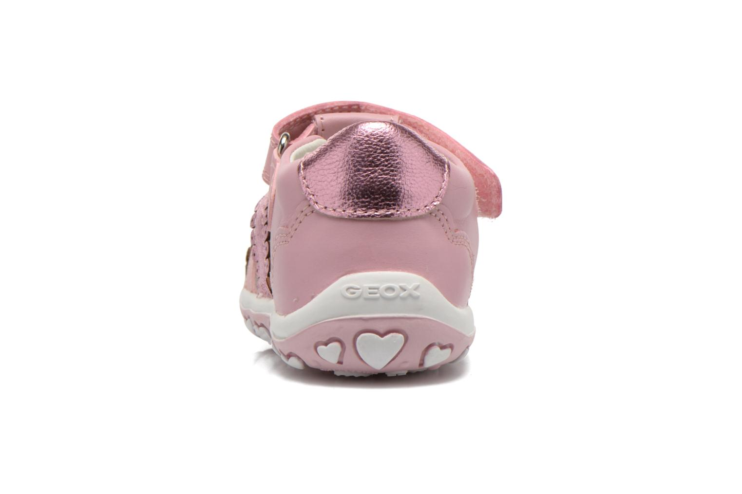 Sandals Geox B Bubble C B62E6C Pink view from the right
