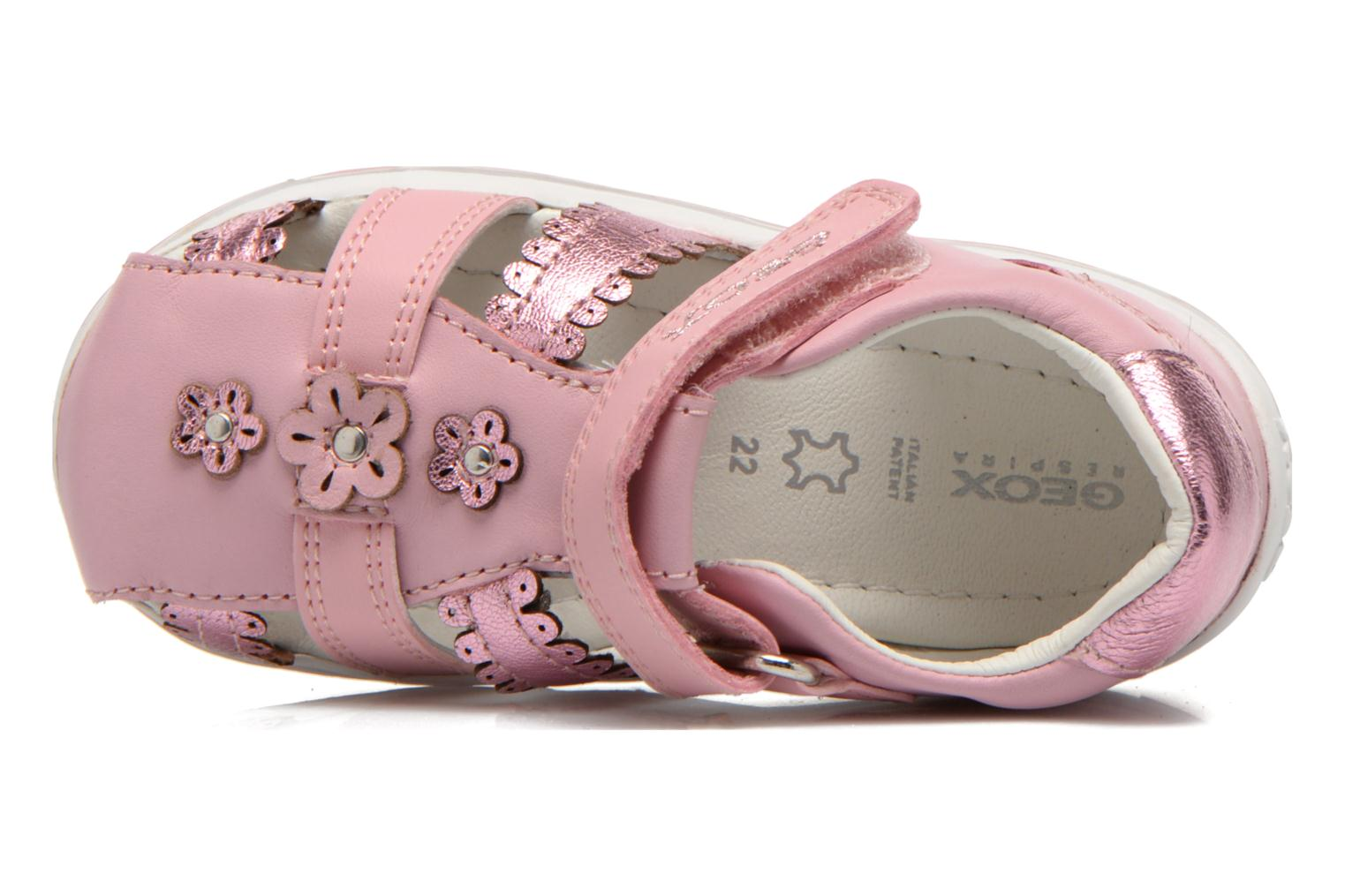 Sandals Geox B Bubble C B62E6C Pink view from the left