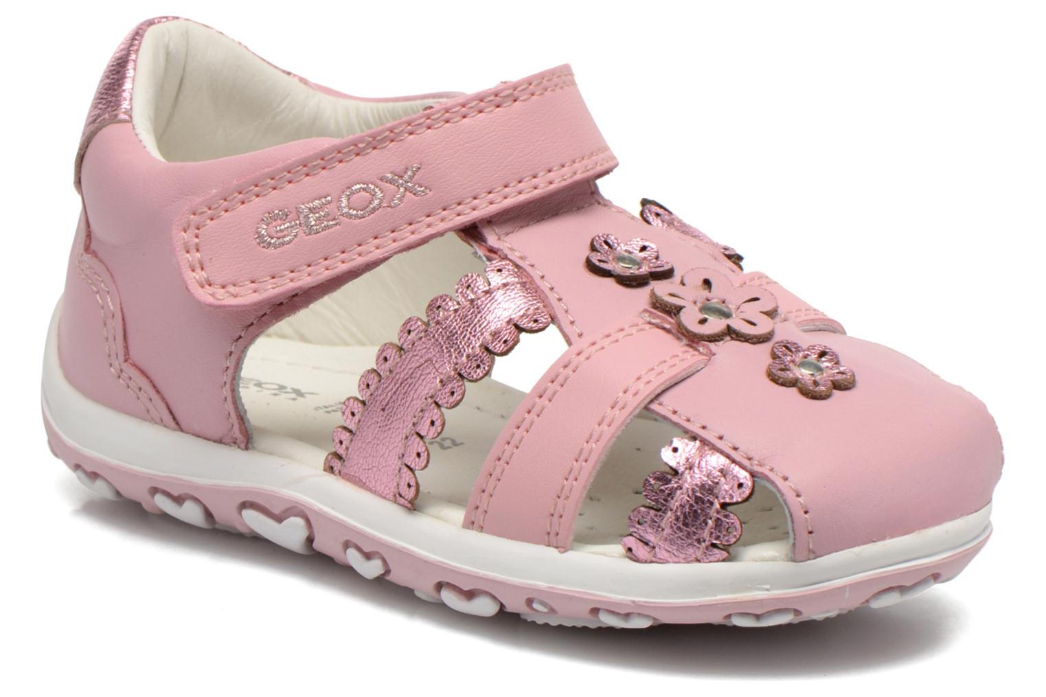 Sandals Geox B Bubble C B62E6C Pink detailed view/ Pair view