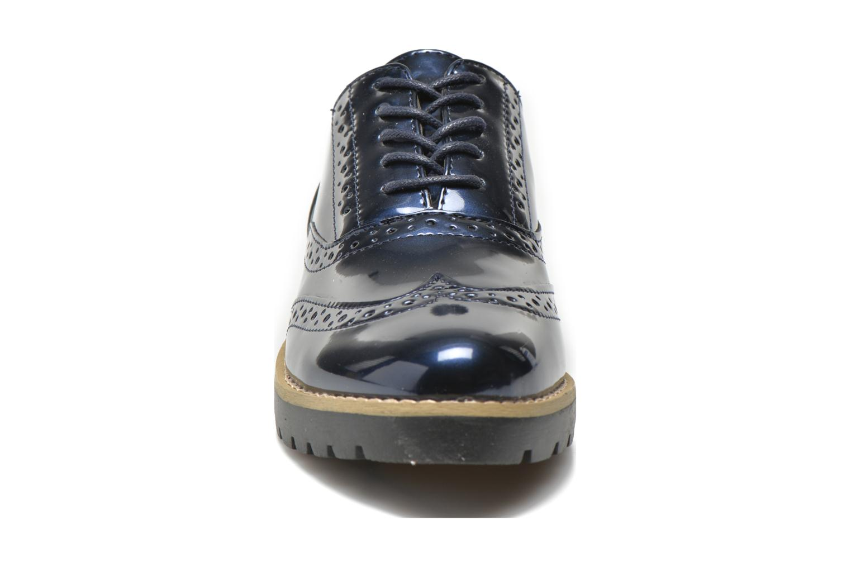 Schnürschuhe I Love Shoes THINA Size + blau schuhe getragen