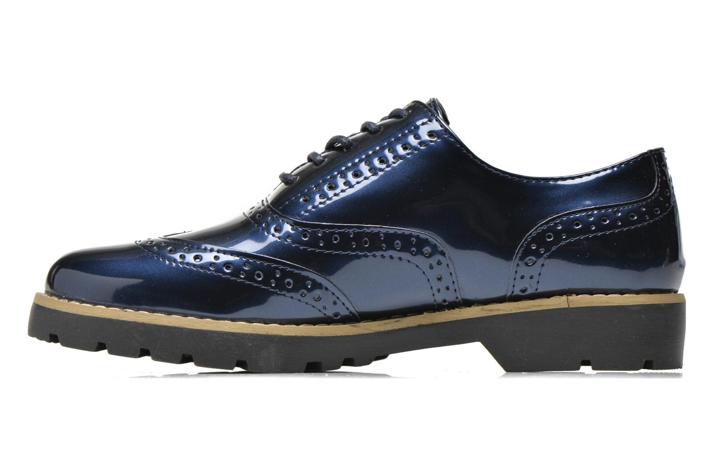 Schnürschuhe I Love Shoes THINA Size + blau ansicht von vorne
