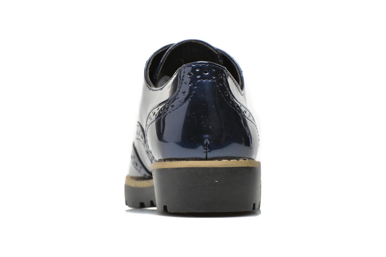 Schnürschuhe I Love Shoes THINA Size + blau ansicht von rechts
