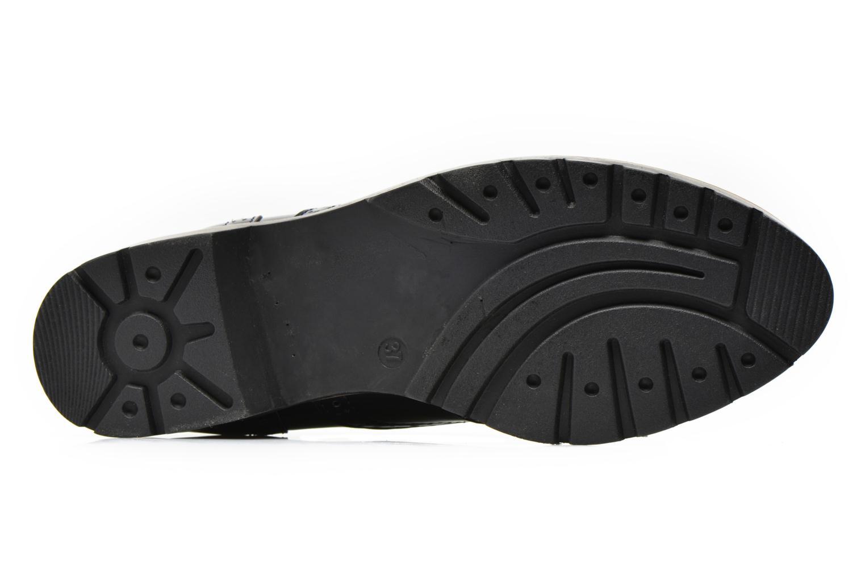 Schnürschuhe I Love Shoes THINA Size + blau ansicht von oben