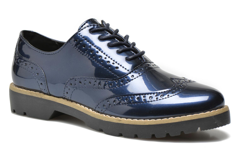 modelo más vendido de la marca I Love Shoes THINA Size + (Azul) - Zapatos con cordones en Más cómodo