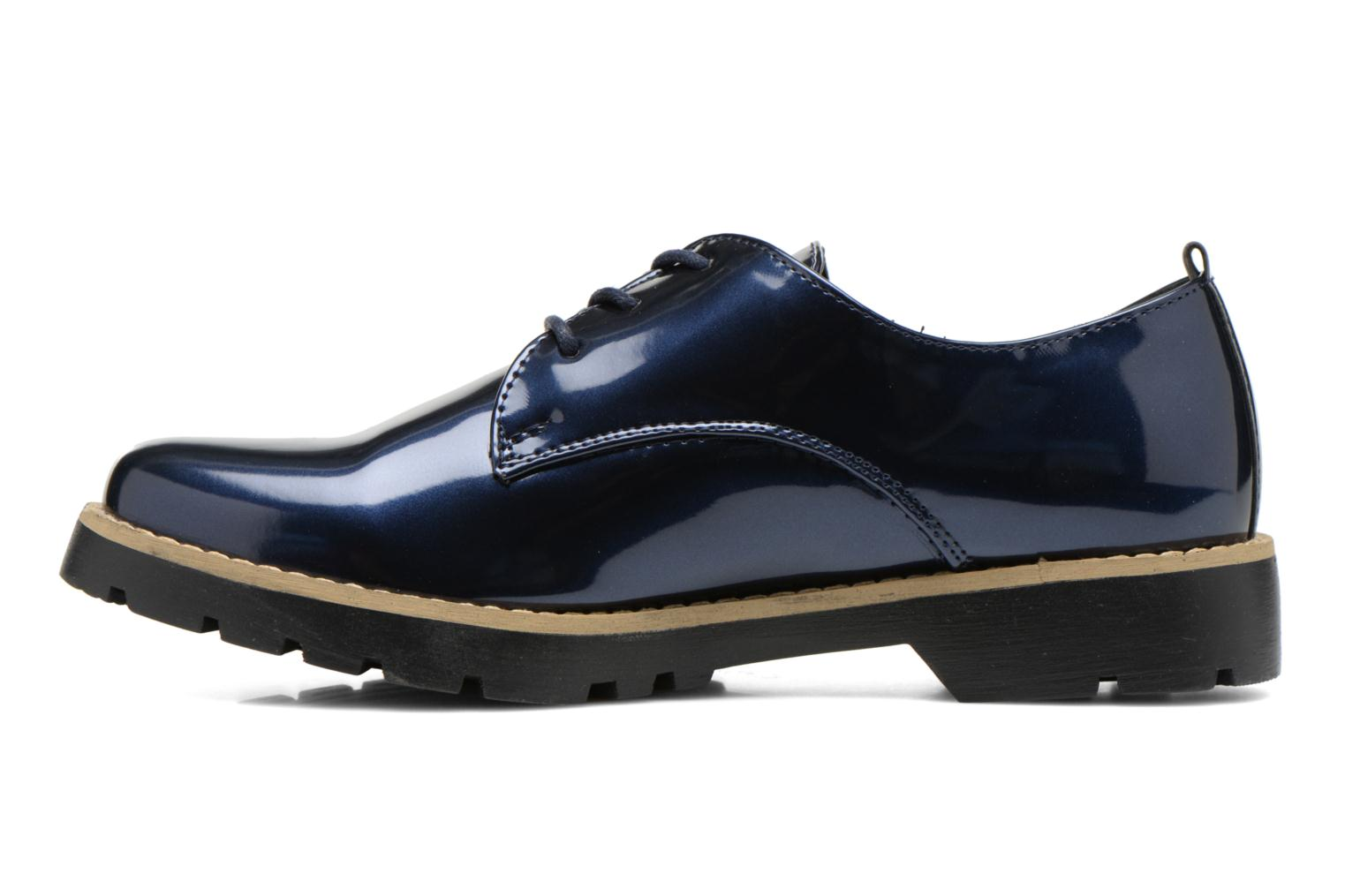 Lace-up shoes I Love Shoes THALY Blue front view