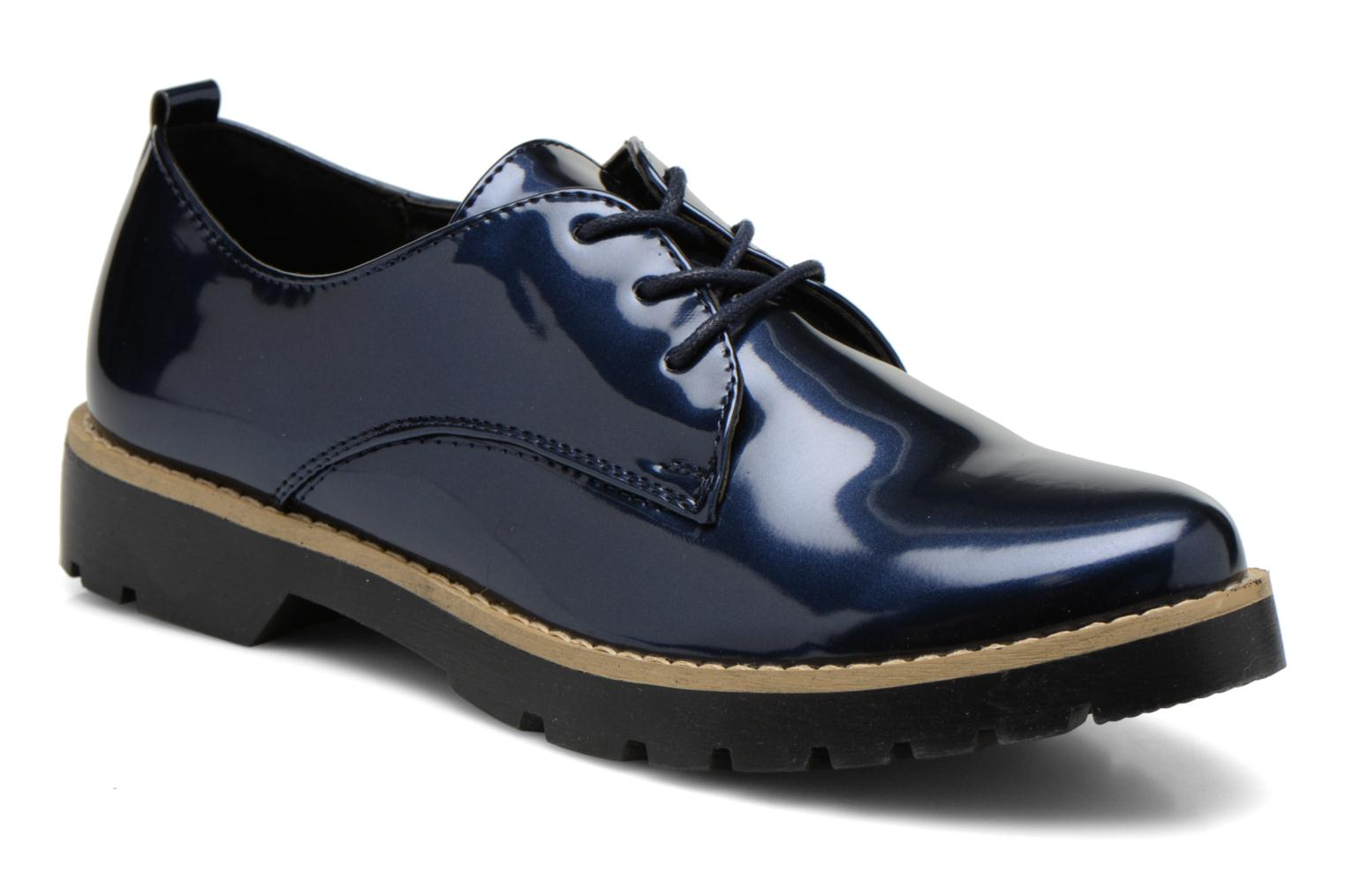 Lace-up shoes I Love Shoes THALY Blue detailed view/ Pair view