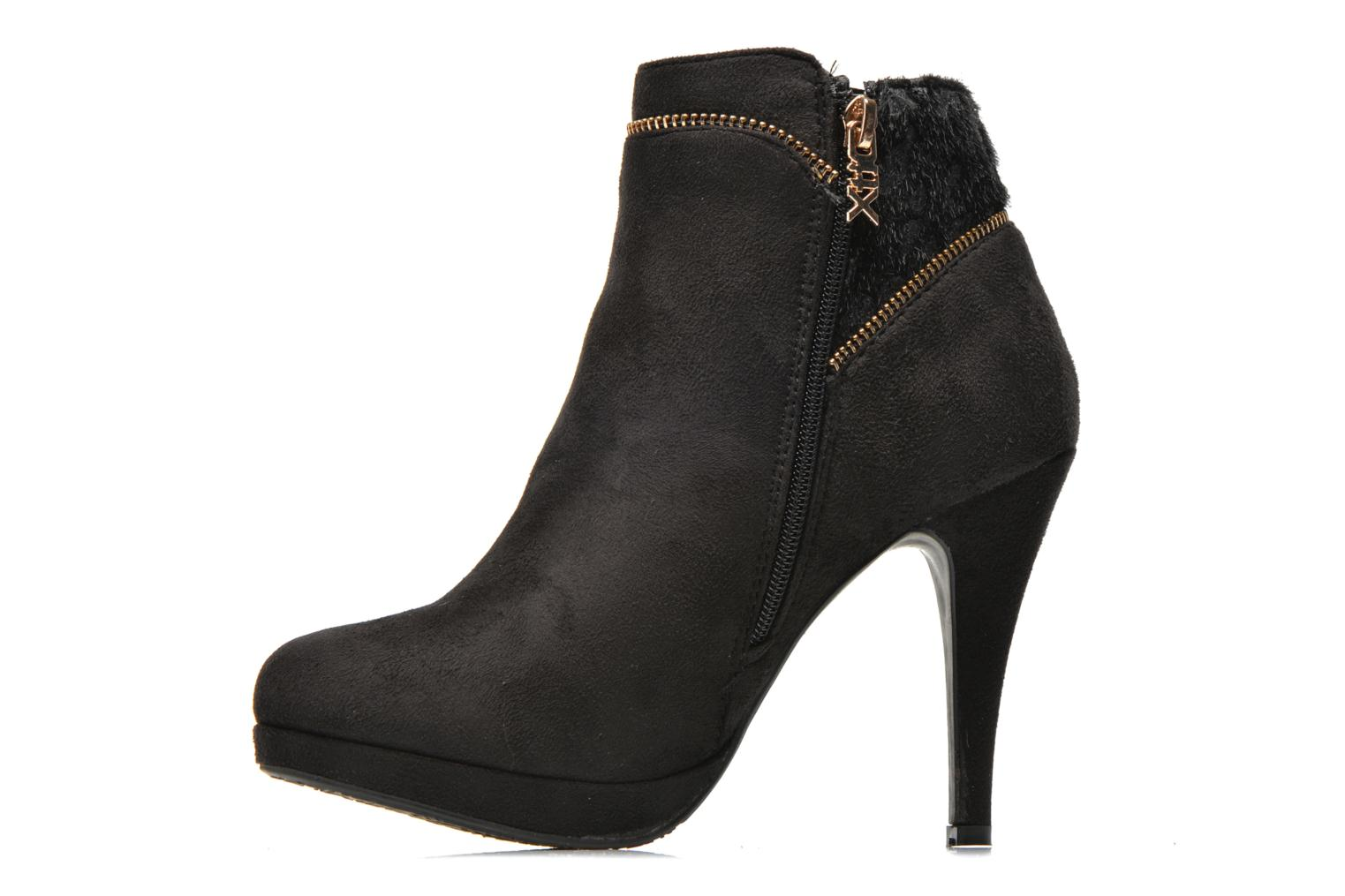 Ankle boots Xti Foxton Beach Black front view