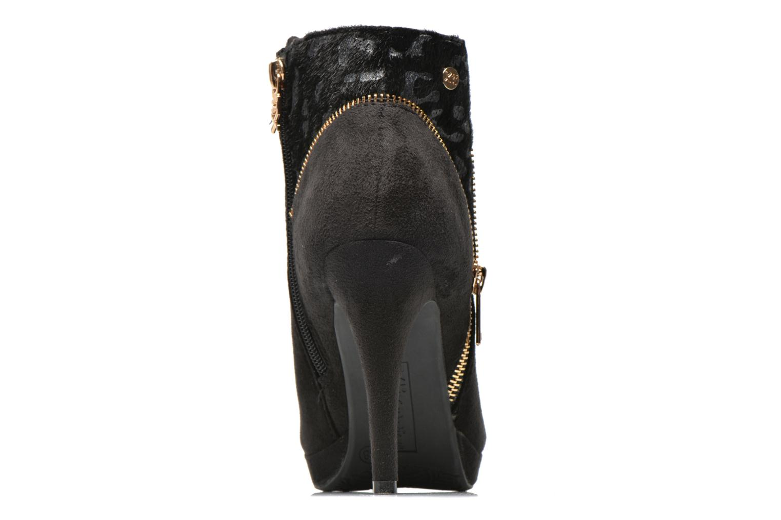 Ankle boots Xti Foxton Beach Black view from the right