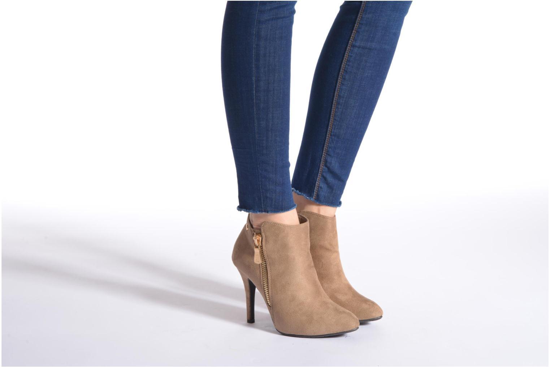 Bottines et boots Xti Zanziba Noir vue bas / vue portée sac