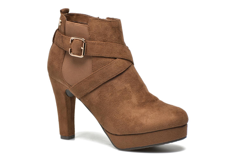 Bottines et boots Xti Magnan Marron vue détail/paire