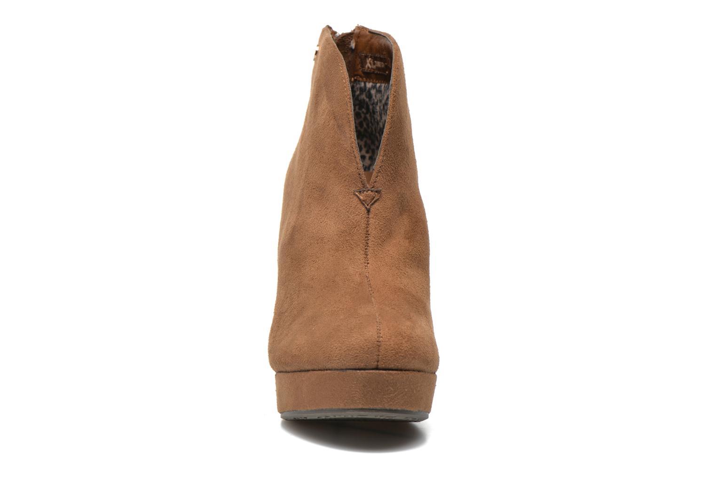 Bottines et boots Xti Hulopo Marron vue portées chaussures