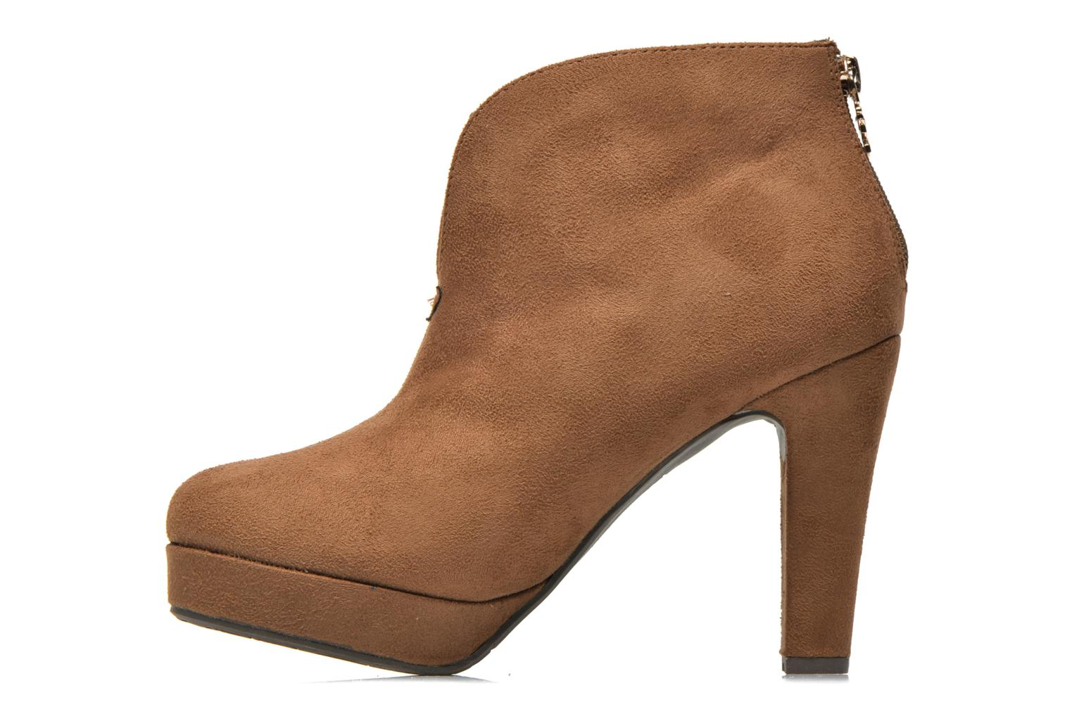 Ankle boots Xti Hulopo Brown front view