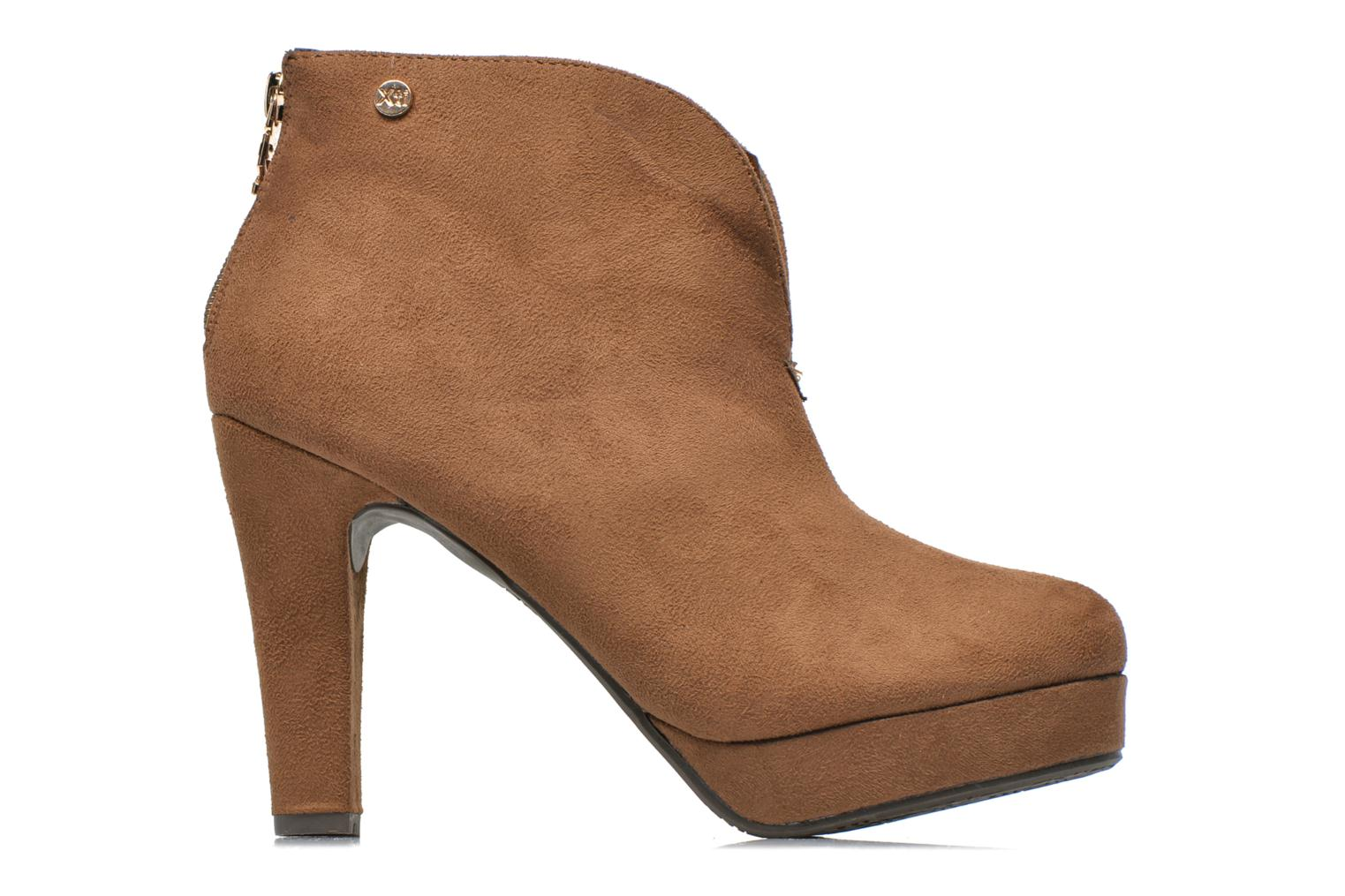 Ankle boots Xti Hulopo Brown back view