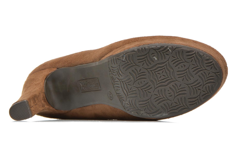 Stiefeletten & Boots Xti Hulopo braun ansicht von oben