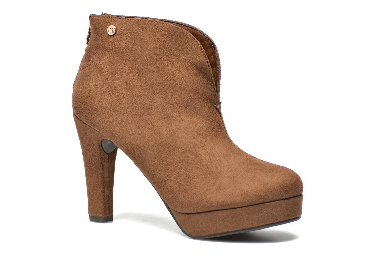 Bottines et boots Xti Hulopo Marron vue détail/paire