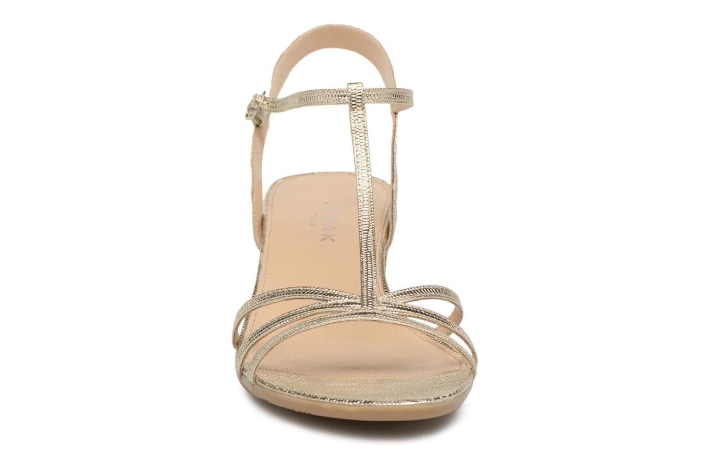 Sandales et nu-pieds Jonak Rozie Or et bronze vue portées chaussures