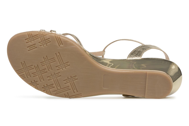 Sandales et nu-pieds Jonak Rozie Or et bronze vue haut